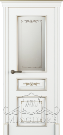 FLEURANS PALE ROYAL ML054 V-S  BIANCO PATINATO ORO