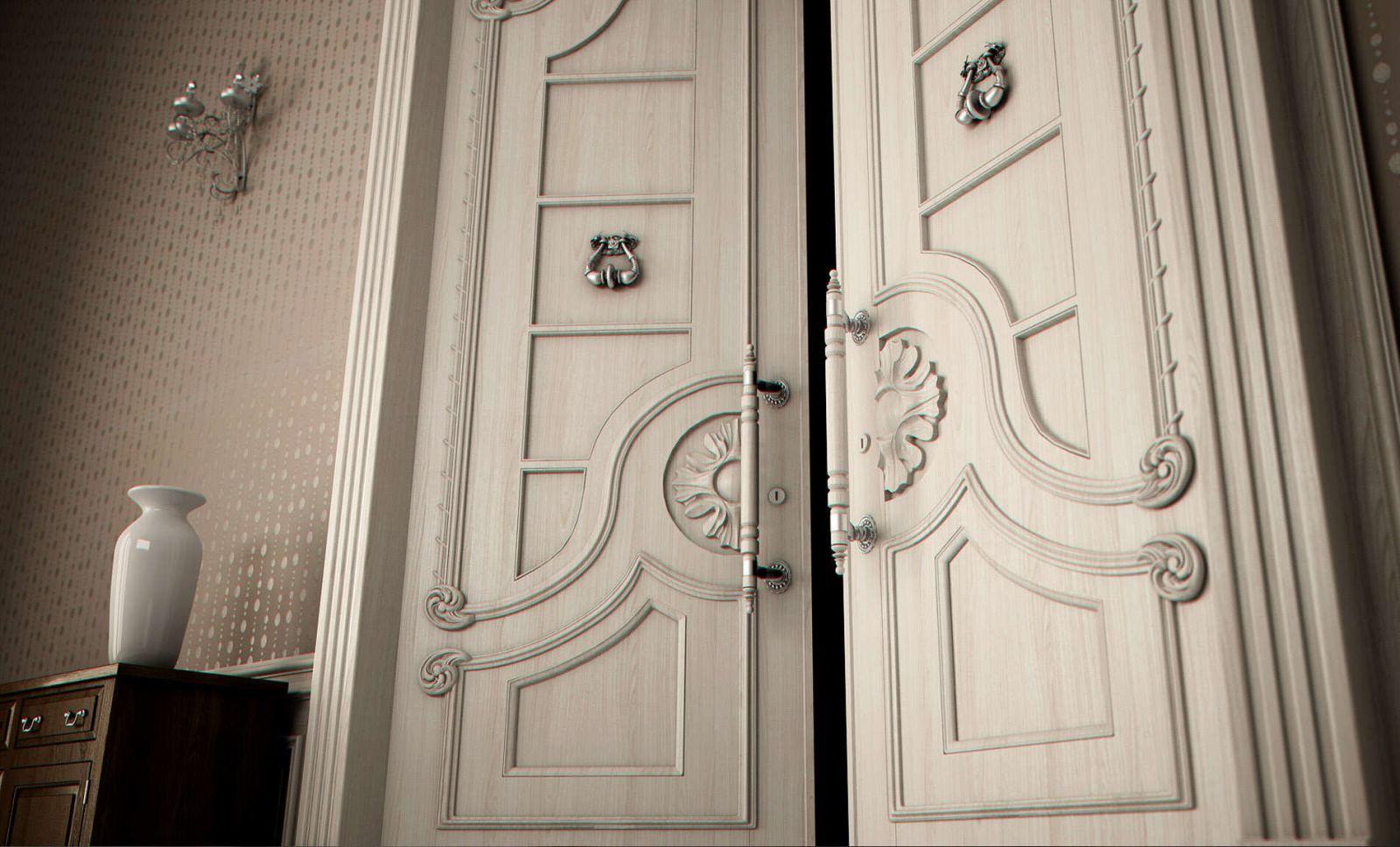 Двери из массива дуба, сосны, ольхи - Каталог с ценами, фото
