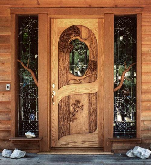 любите резные деревянные двери фото сумку